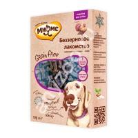 Мнямс Grain Free Беззерновое гипоаллергенное полувлажное лакомство с индейкой для собак