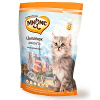 фото Мнямс Цыпленок Маренго Сбалансированный сухой корм с цыпленком для котят