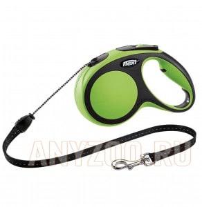 Купить Flexi New Comfort рулетка для собак, размер M, 5м*20кг, трос