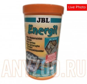 JBL Energil  Корм из целиком высушенных рыб и рачков для крупных водных черепах