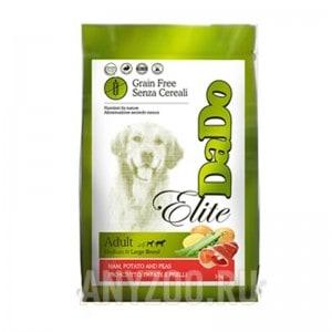 DaDo Elite Grain-Free Adult Dog Ham & Potato