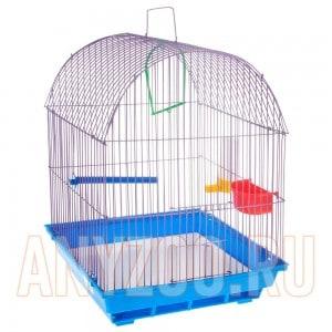 Зоомарк клетка для птиц полукруглая арт.420