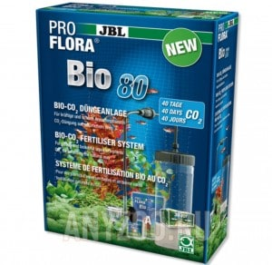 фото JBL ProFlora bio80 2 BioCO2-система с пополняемым баллоном и мини-CO2-реактором  от 12 до 80л