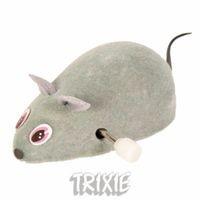 """фото Trixiе игрушка д/кошек """"Мышь заводная"""" 7см"""