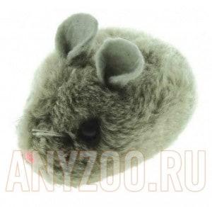 фото Dezzie  Вибрирующая игрушка для кошек Мышка , 8см, искусственный мех