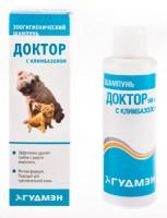 Доктор Шампунь для кошек с климбазолом против грибков на шерсти