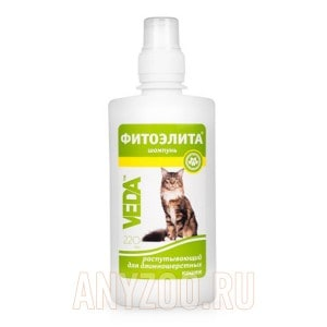 Фитоэлита Шампунь для кошек  длинношерстных распутывающий