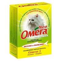 Омега neo лакомство для кошек с биотином и таурином