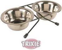 фото Trixie  Подставка с мисками, металл 2 миски (жук)