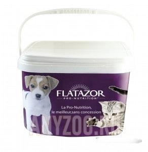 фото Flatazor пластиковый бак для хранения корма с крышкой