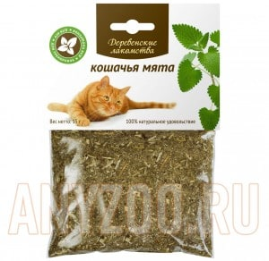 Деревенские лакомства для кошек Кошачья мята