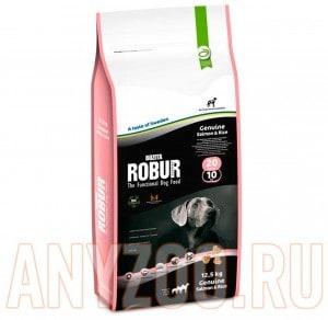 Купить Bozita Robur Genuine Salmon&Rice 20/10- Бозита  Робур для собак с лососем и рисом