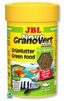 фото JBL NovoGranoVert mini Refill Корм в зеленых мини-гранулах для маленьких рыб