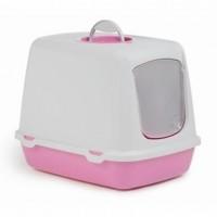 фото I.P.T.S. 400468 Oscar Туалет-домик для кошек розовый