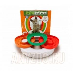 фото Litter Kwitter - оригинальная система для приучения кошки к туалету (унитазу) Арт. LK