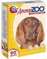 Доктор Зоо витамины для собак со вкусом Сыра