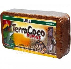 фото JBL TerraCoco Humus Натуральный кокосовый перегной, спрессованный в брикет