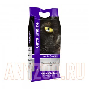 Indian Cat Litter Cat`s Choice Lavender