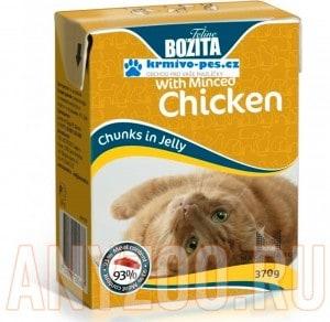 Купить Bozita Tetra Pak Funktion Kitten кусочки Курицы в желе для котят и беременных кошек