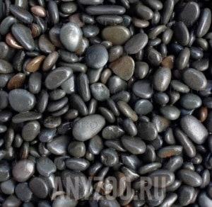 """Купить UDeco River Dark Натуральный грунт для аквариумов """"Тёмный гравий"""",6-9 мм"""