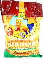 Зооник древесный наполнитель для кошек
