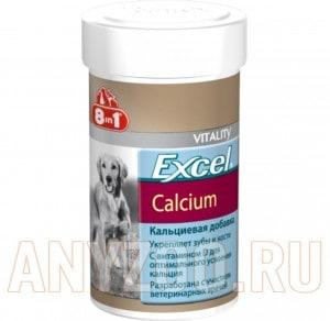Купить 8 in 1 Excel Calcium- Эксель кальций для собак