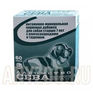 фото Ceva Витаминно-минеральная кормовая добавка для собак старше 7 лет с олигосахаридами и таурином