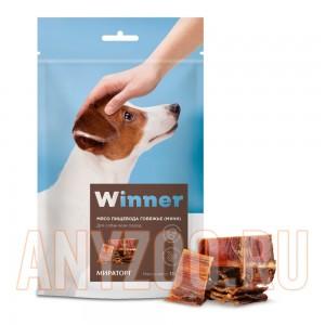 Мираторг Winner лакомство для собак Мясо пищевода говяжье (мини) охлажденное дой пак