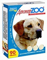 Доктор Зоо витамины для собак Здоровый иммунитет