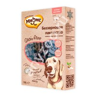 фото Мнямс Grain Free Беззерновое, гипоаллергенное, полувлажное лакомство для собак с ягненком