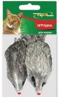 фото Triol Набор ддя кошек Мышь серая 10см