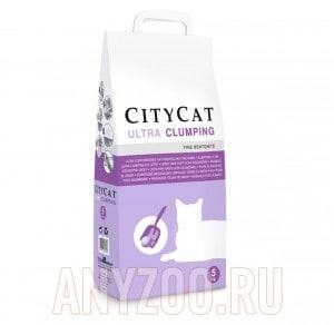 фото Citycat Ultra наполнитель комкующийся без ароматизатора