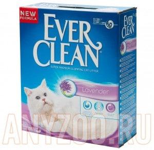 Купить Ever Clean Lavander - Эвер Клин Наполнитель туалета для кошек с ароматом Лаванды
