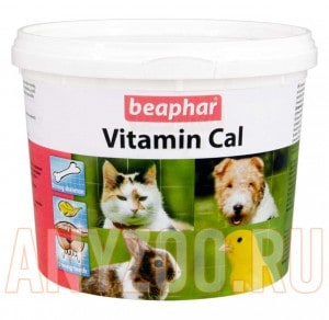 """фото Beaphar  """"Vitamin Cal"""" Минеральная смесь для укрепления иммунитета собак и кошек"""