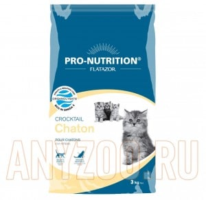 фото Flatazor Croctail Chaton Сухой корм для котят, беременных и кормящих кошек