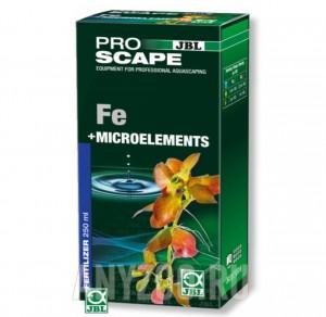 фото JBL ProScape Fe + Microelements Базовое удобрение с Fe, K, Mg и комплексом редкоземельных элементов