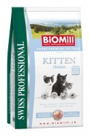 Biomill Swiss Professional Kitten