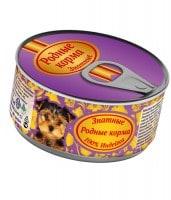 фото Родные корма Знатные консервы для Щенков 100% Индейка