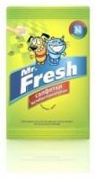 фото Mr.Fresh Мистер Фреш Салфетки влажные для собак и кошек антибактериальные