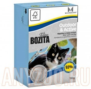 Bozita Tetra Pak Funktion Outdoor& Active