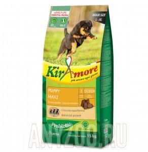 фото Kiramore Puppy Maxi Кираморе сухой корм для щенков крупных пород с курицей