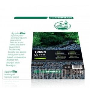 Купить Dennerle Nature Gravel PlantaHunter Yukon Натуральный гравий для аквариума, 5-10 мм