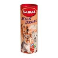 фото Sanal Санал Молочные Дропсы + Вит. A, C, D, E для собак 2330