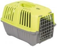 """фото MPS """"Pratiko"""" Переноска пластиковая для собак и кошек с металической дверцей 48 х 31,5 х 33 см"""