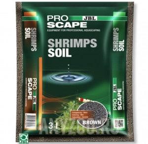 фото JBL ProScape ShrimpsSoil Brown  Питательный грунт для аквариумов с креветками, коричневый