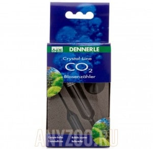 фото Счетчик пузырьков СО2 для систем Dennerle Crystal-Line