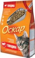 Оскар Сухой корм для взрослых кошек  с говядиной (профилактика МКБ)