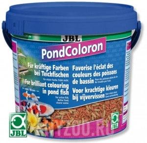 фото JBL Pond Coloron Корм для прудовых рыб в форме палочек для усиления естественной окраски