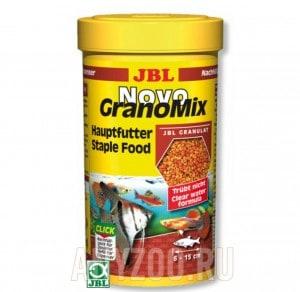 фото JBL NovoGranoMix Основной корм в форме смеси гранул для общих аквариумов