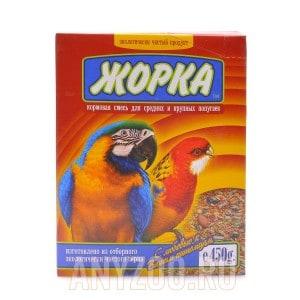 Жорка Корм для крупных и средних попугаев